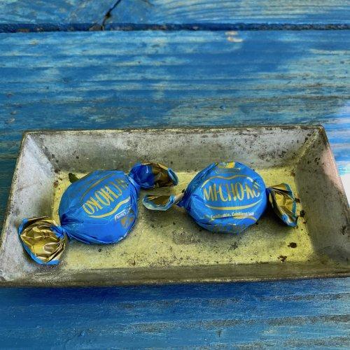 blaue bonbons - 1