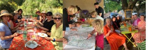 Die Gäste der Reise zur Lavendelblüte in Südfrankreich 2019
